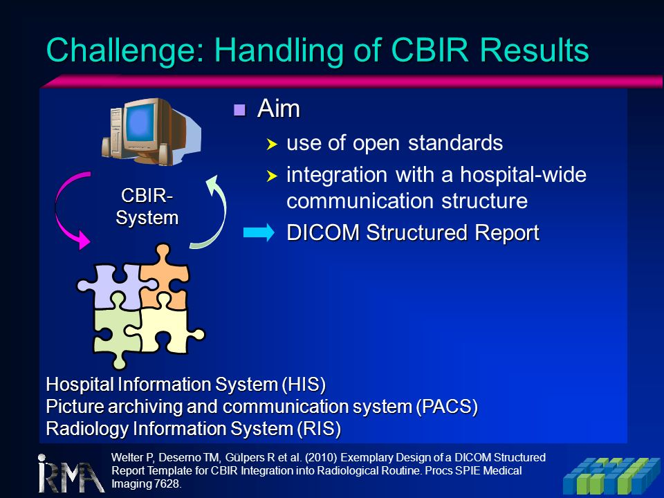 Challenge: Handling of CBIR Results