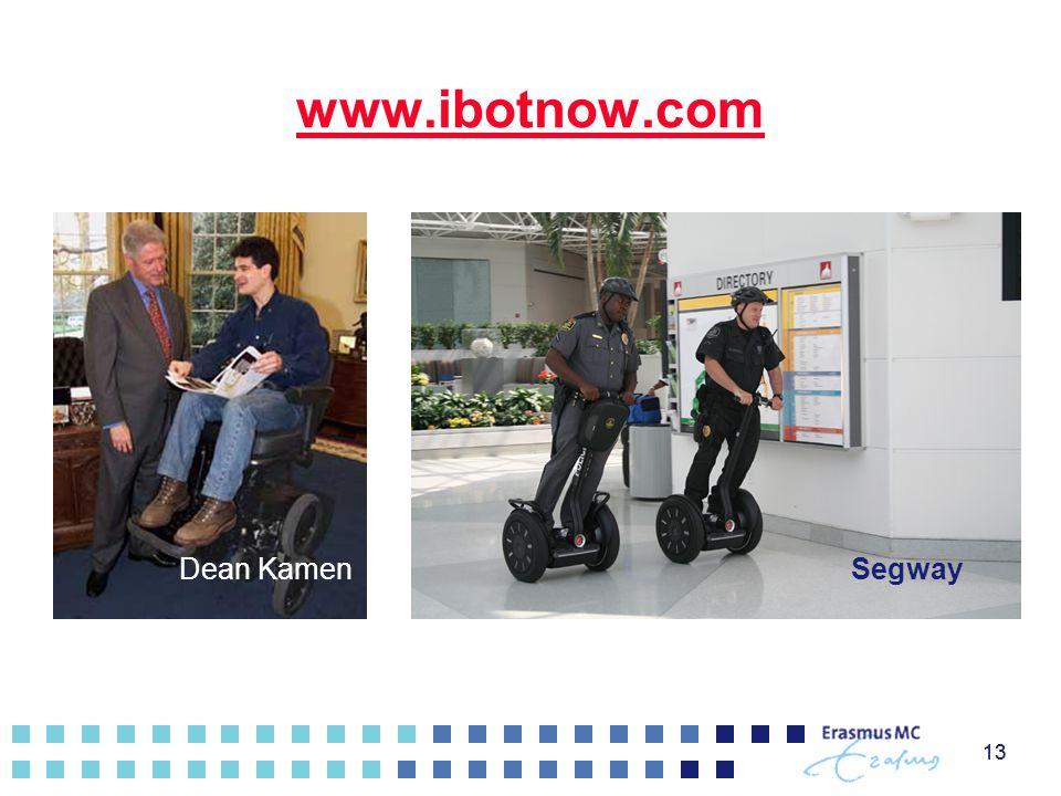 www.ibotnow.com Dean Kamen Segway 13