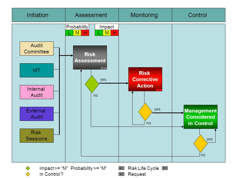 Initiation Assessment Monitoring Control Audit Committee Risk