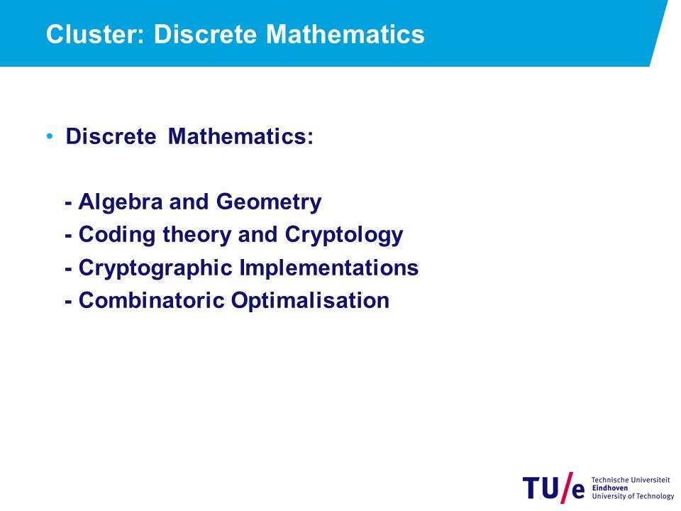 Cluster: Discrete Mathematics