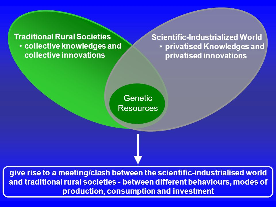 Genetic Resources Traditional Rural Societies
