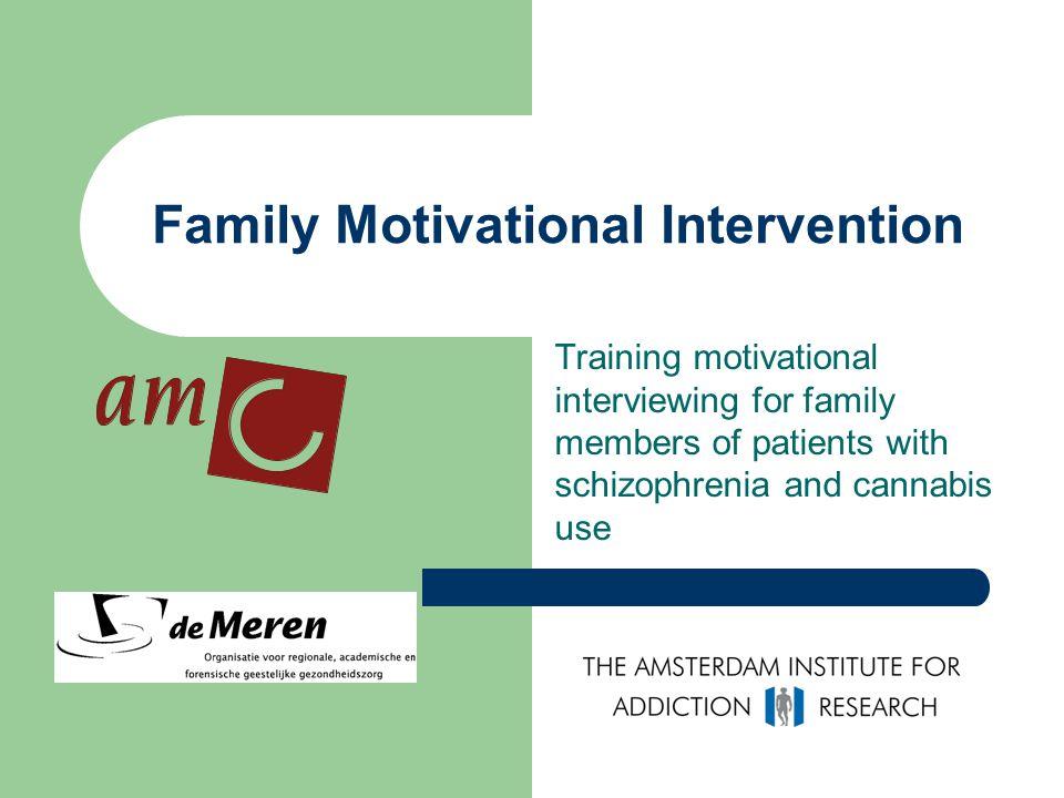 Family Motivational Intervention