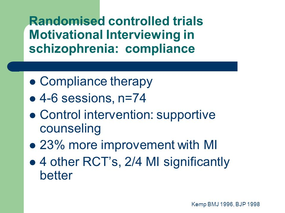 Control intervention: supportive counseling
