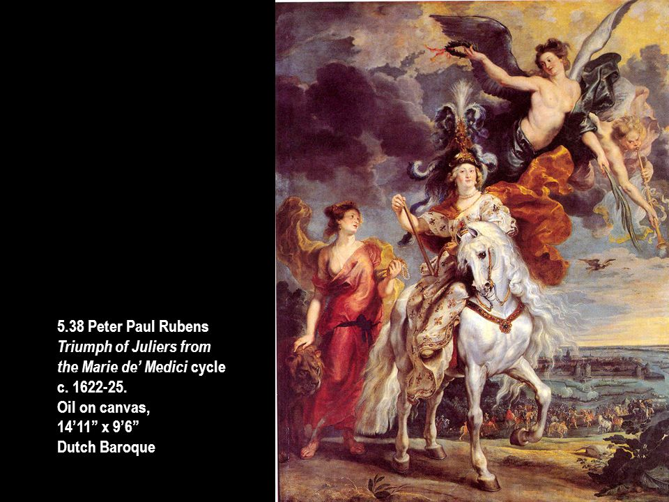 5.38 Peter Paul Rubens Triumph of Juliers from. the Marie de' Medici cycle. c. 1622-25. Oil on canvas,