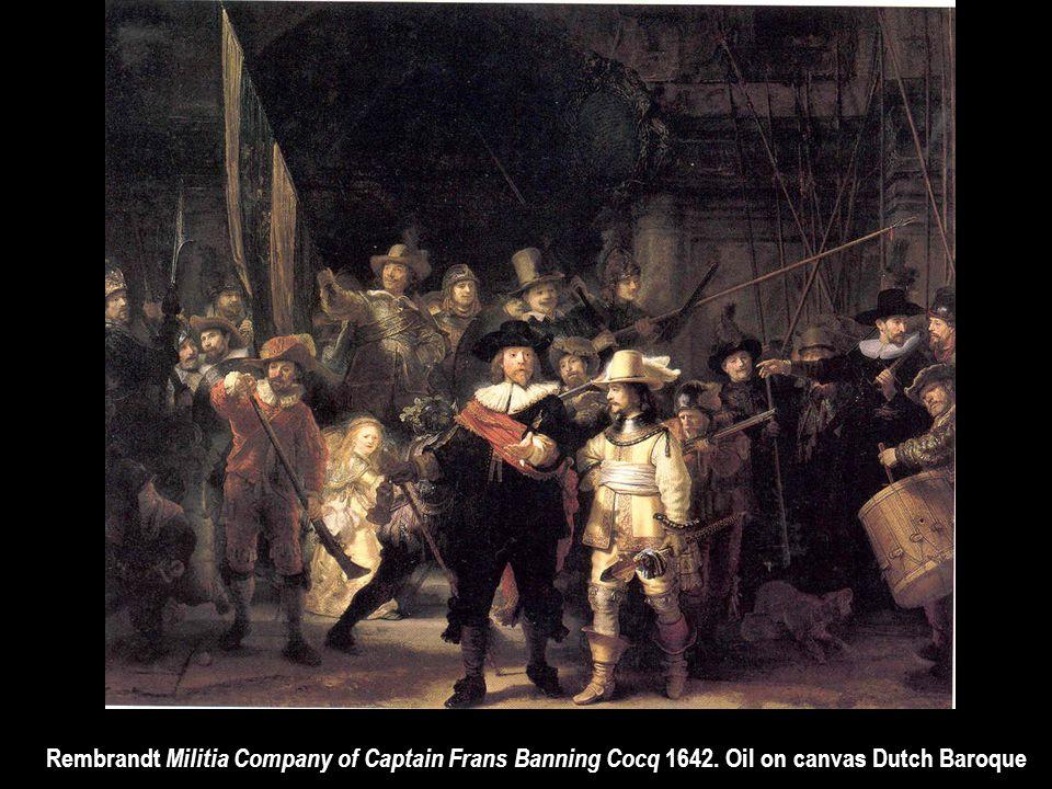 Rembrandt Militia Company of Captain Frans Banning Cocq 1642