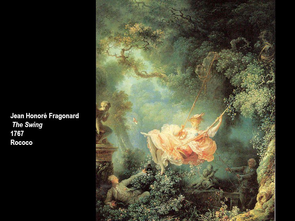 Jean Honoré Fragonard The Swing 1767 Rococo