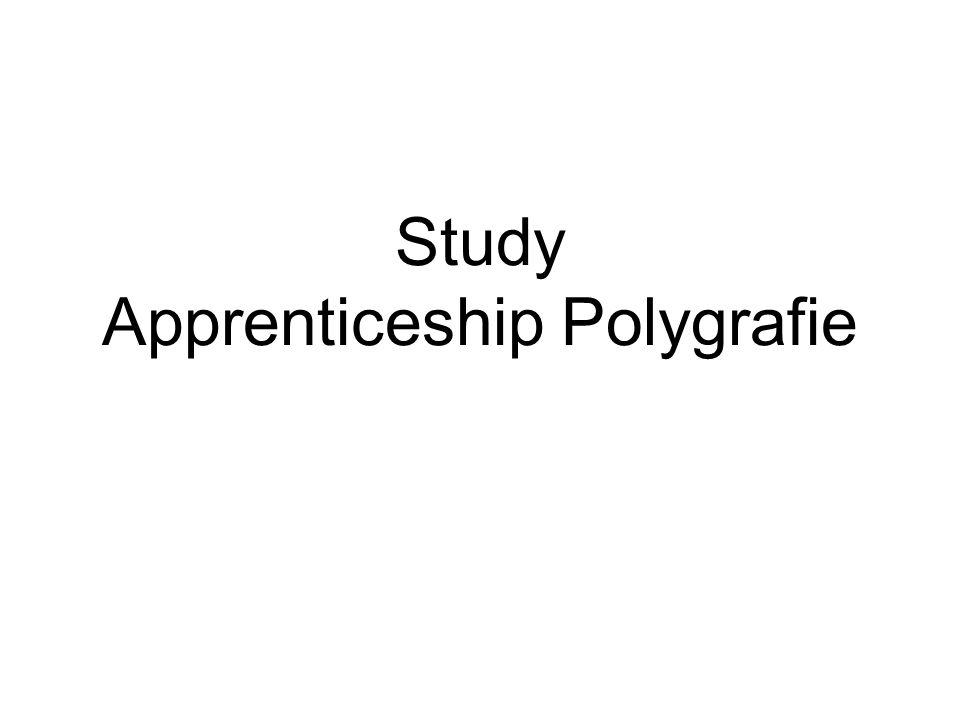 Study Apprenticeship Polygrafie
