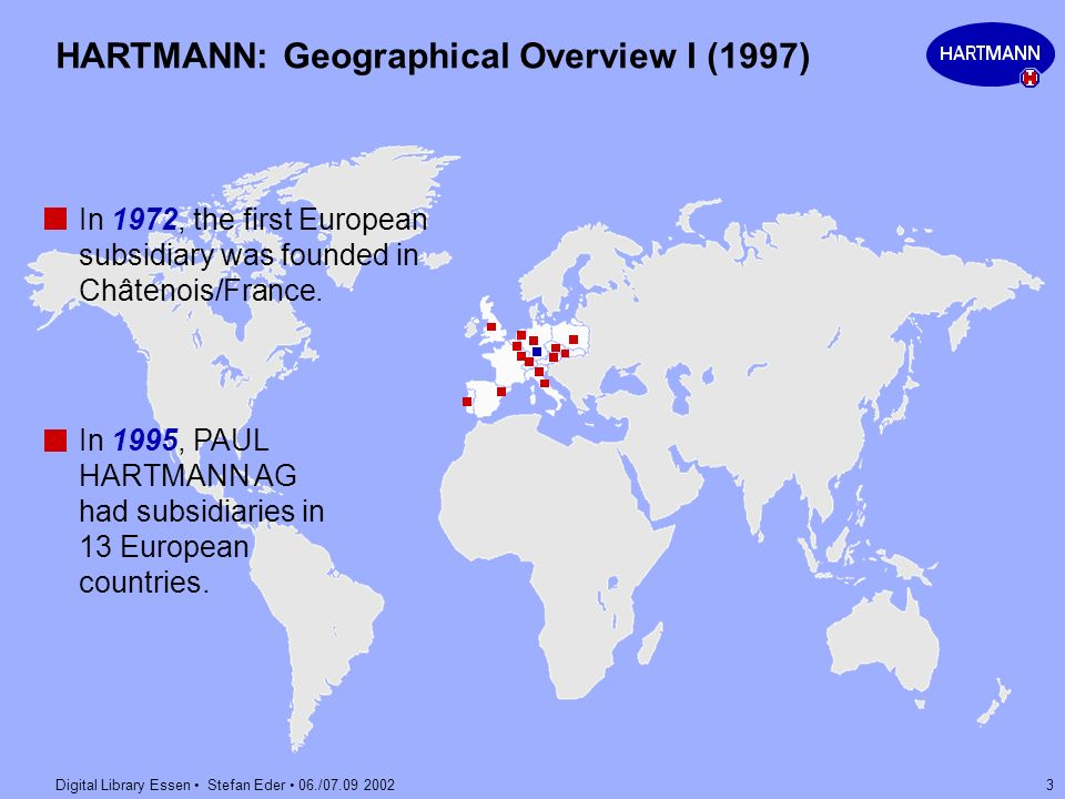 HARTMANN: Geographical Overview I (1997)