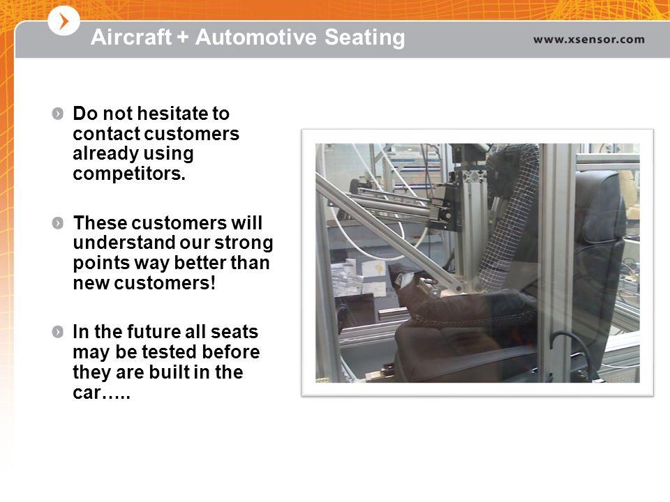 Aircraft + Automotive Seating