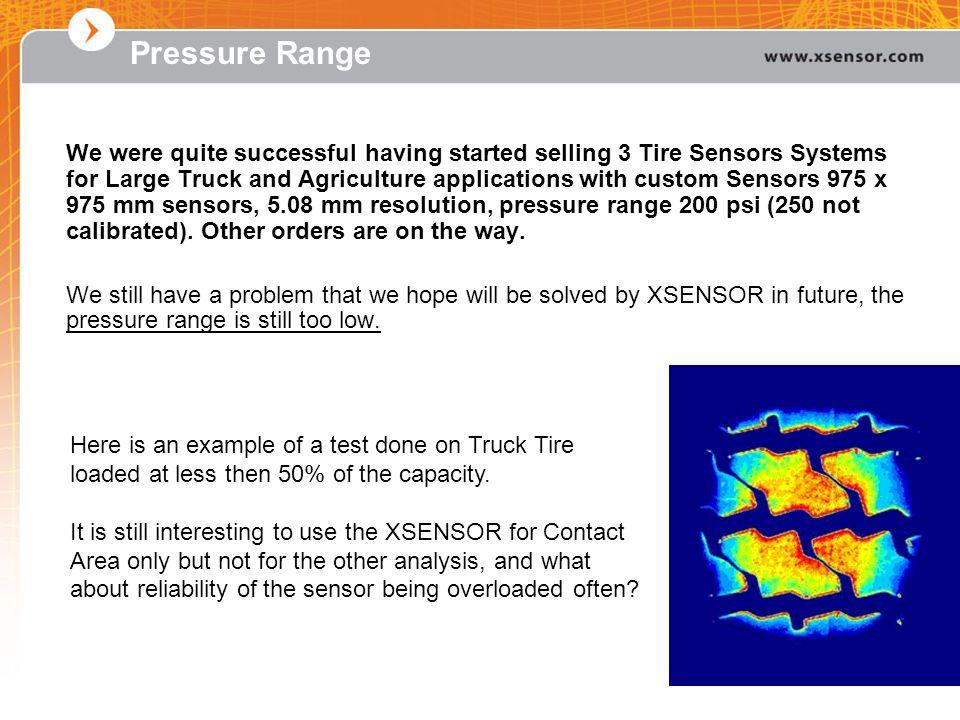 Pressure Range