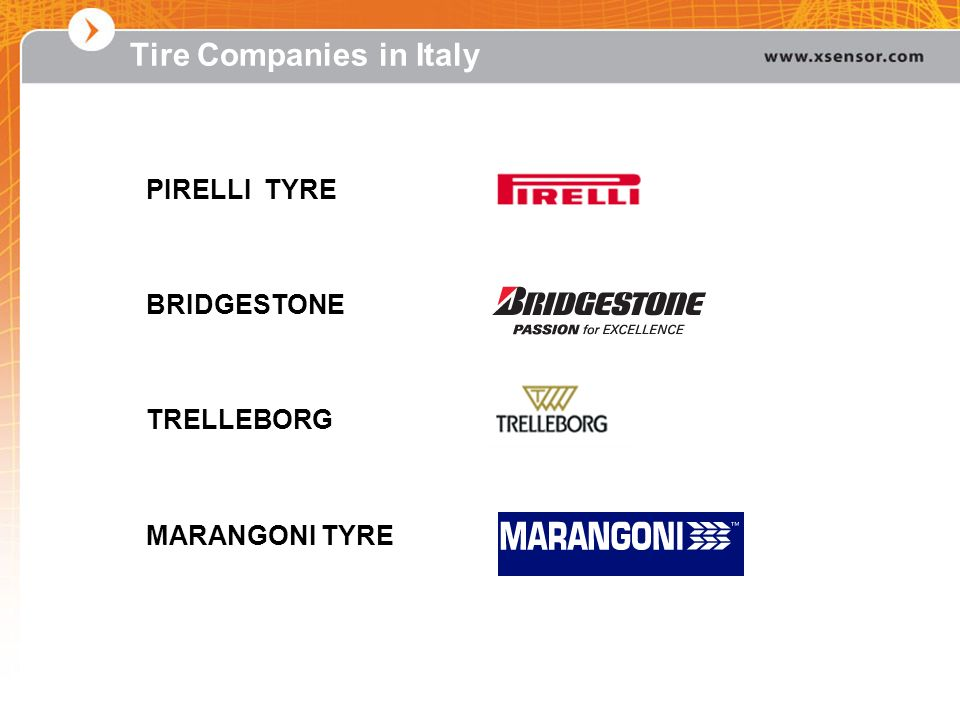 Tire Companies in Italy