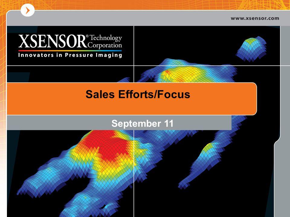 Sales Efforts/Focus September 11