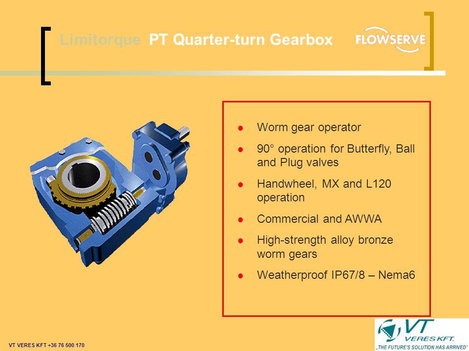 Limitorque PT Quarter-turn Gearbox