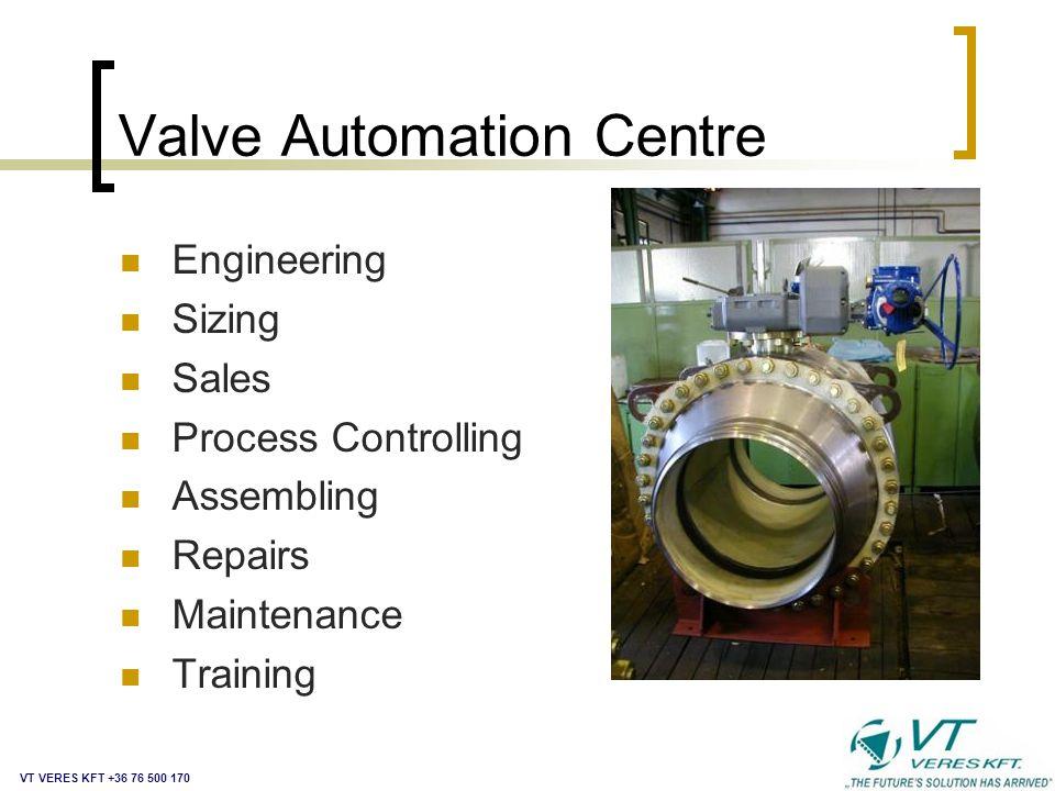 Valve Automation Centre