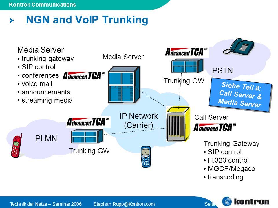 Call Server & Media Server