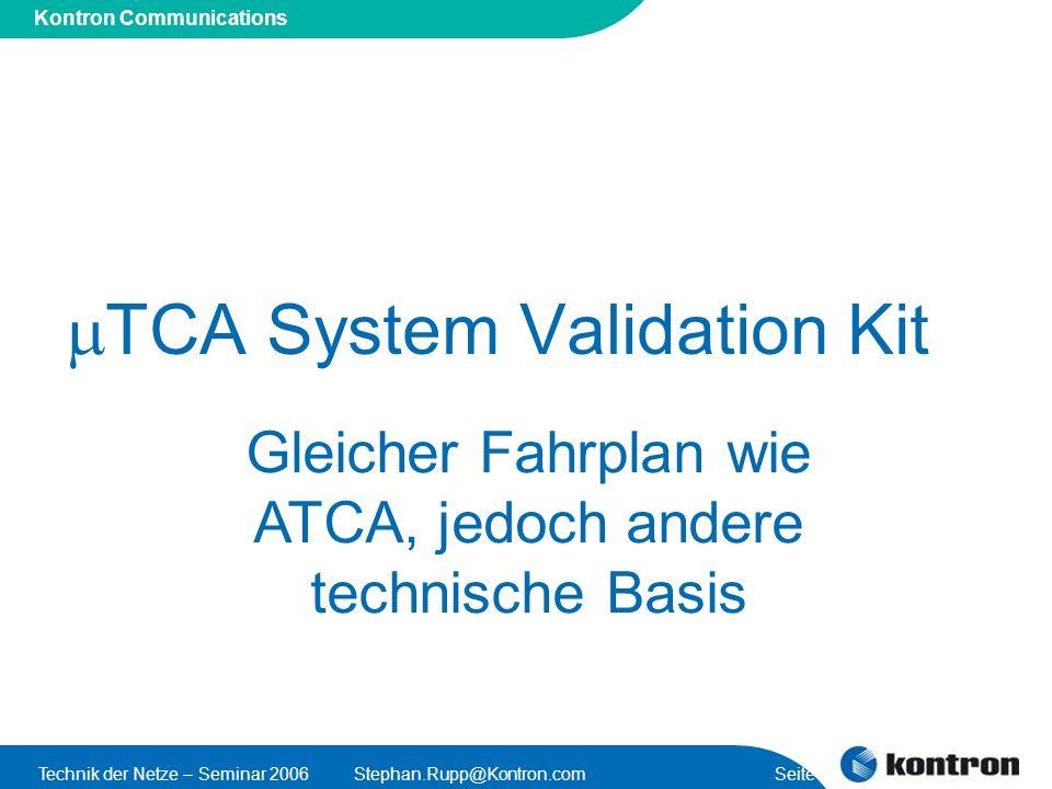 mTCA System Validation Kit