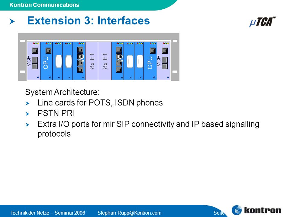 Extension 3: Interfaces