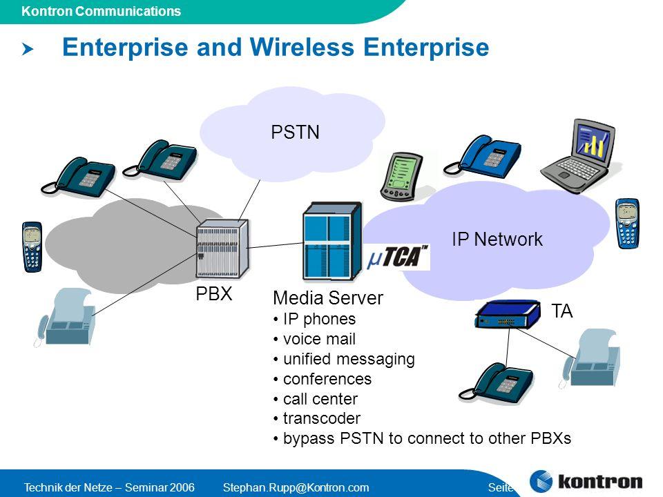 Enterprise and Wireless Enterprise