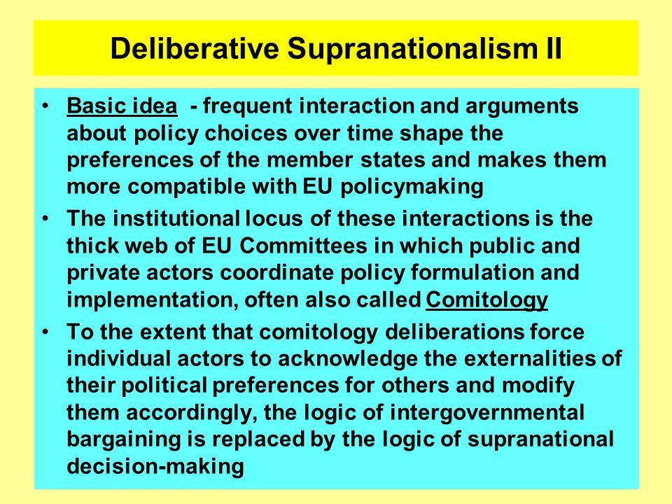 Deliberative Supranationalism II
