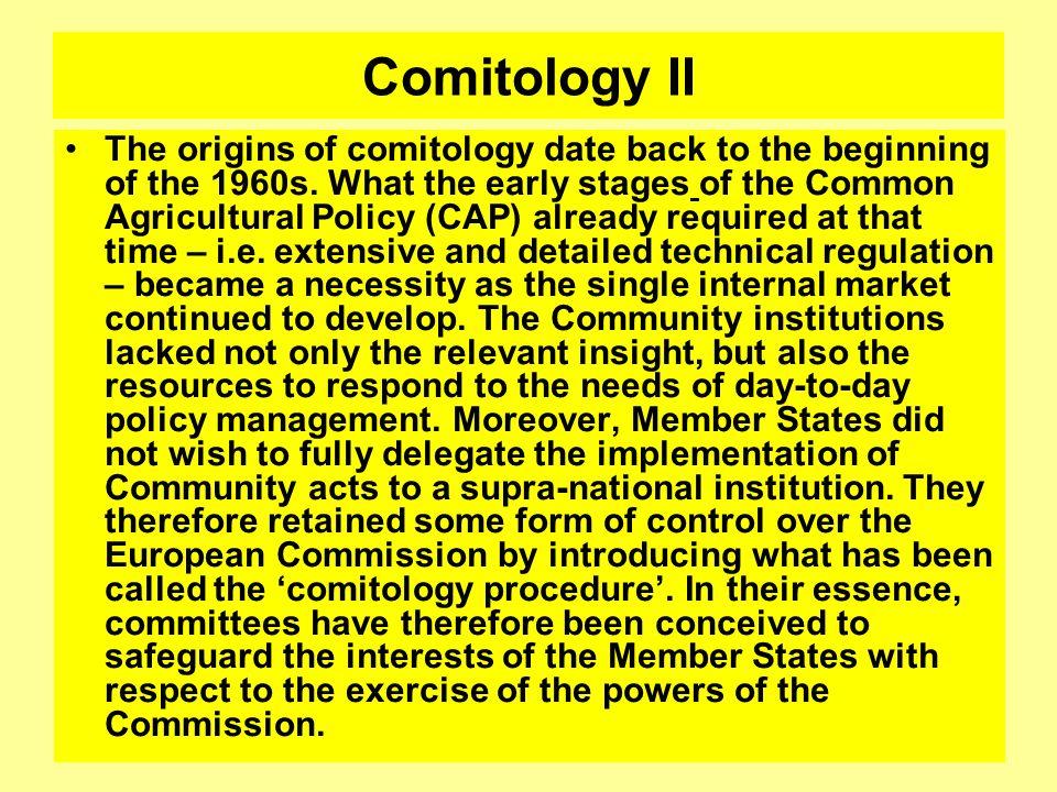 Comitology II