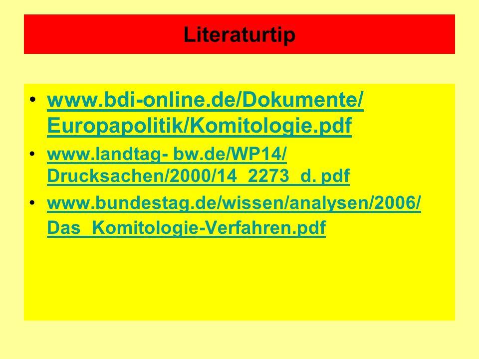 www.bdi-online.de/Dokumente/ Europapolitik/Komitologie.pdf