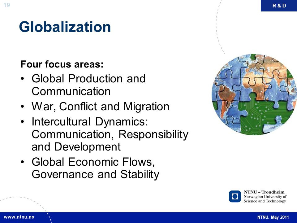 Globalization Global Production and Communication