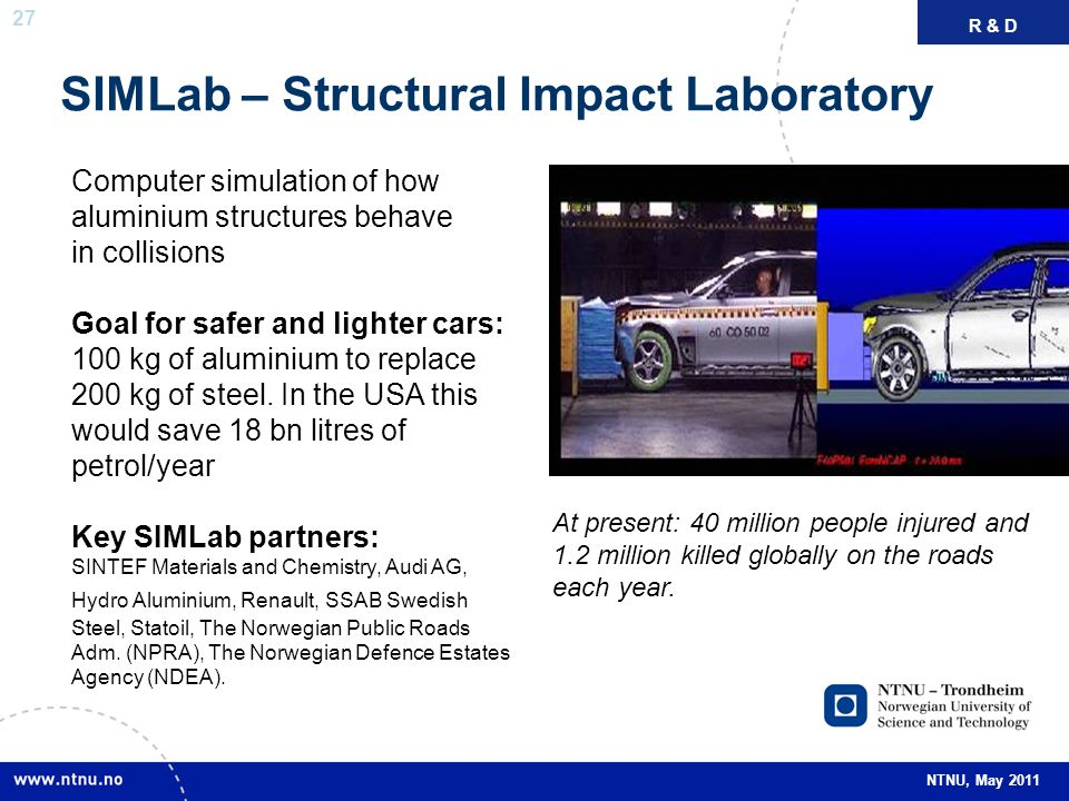 SIMLab – Structural Impact Laboratory