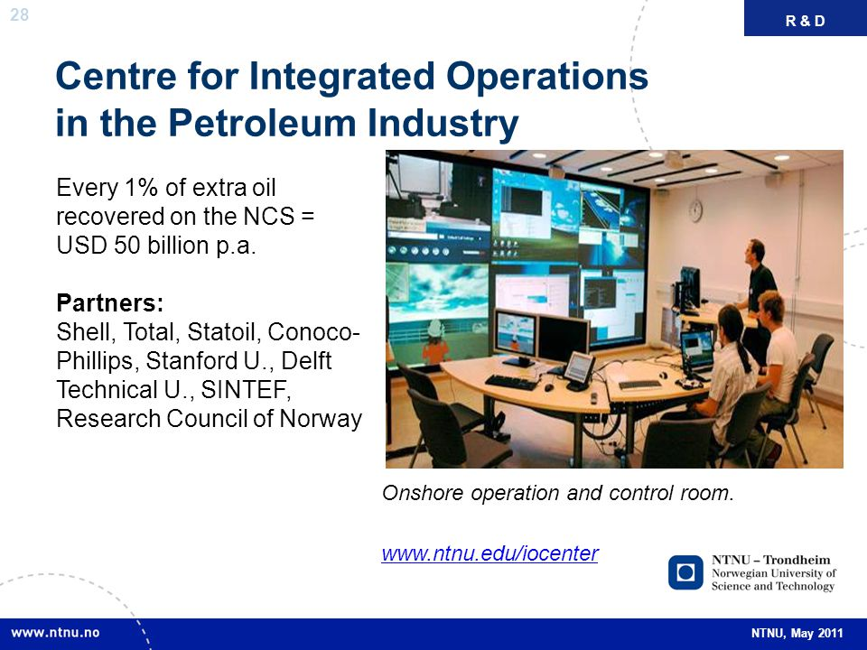 Centre for Integrated Operations in the Petroleum Industry