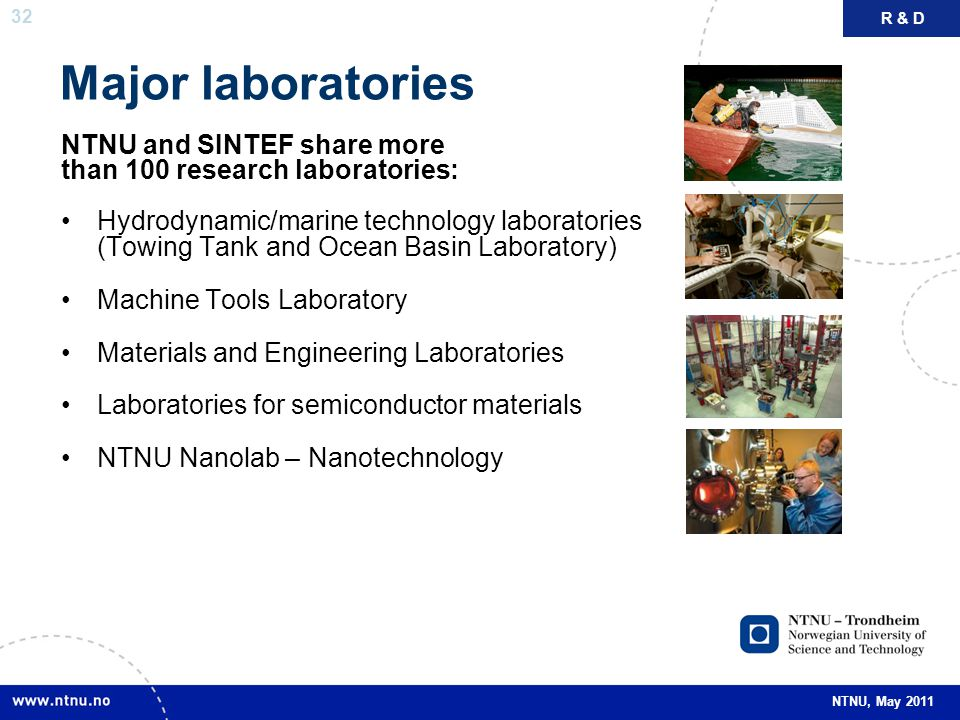 Major laboratories NTNU and SINTEF share more