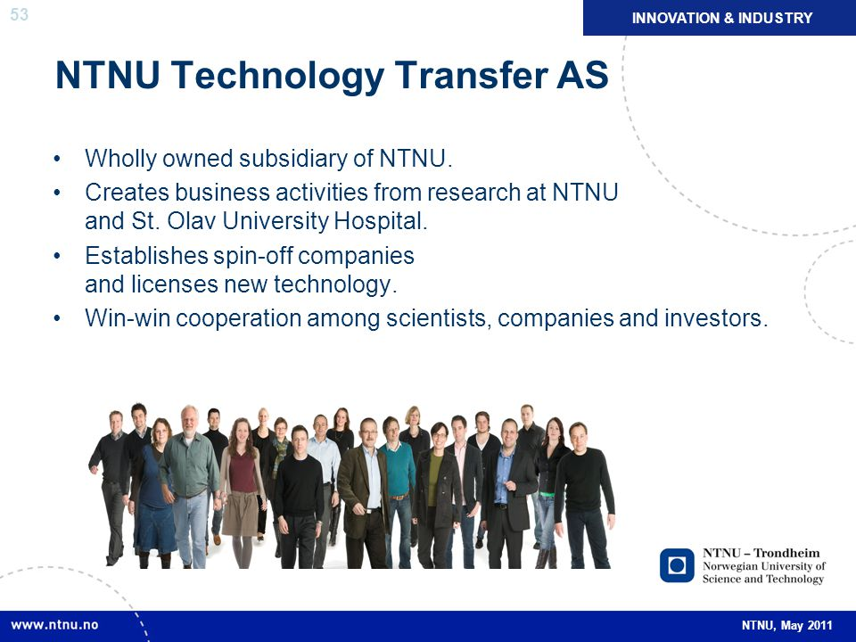 NTNU Technology Transfer AS