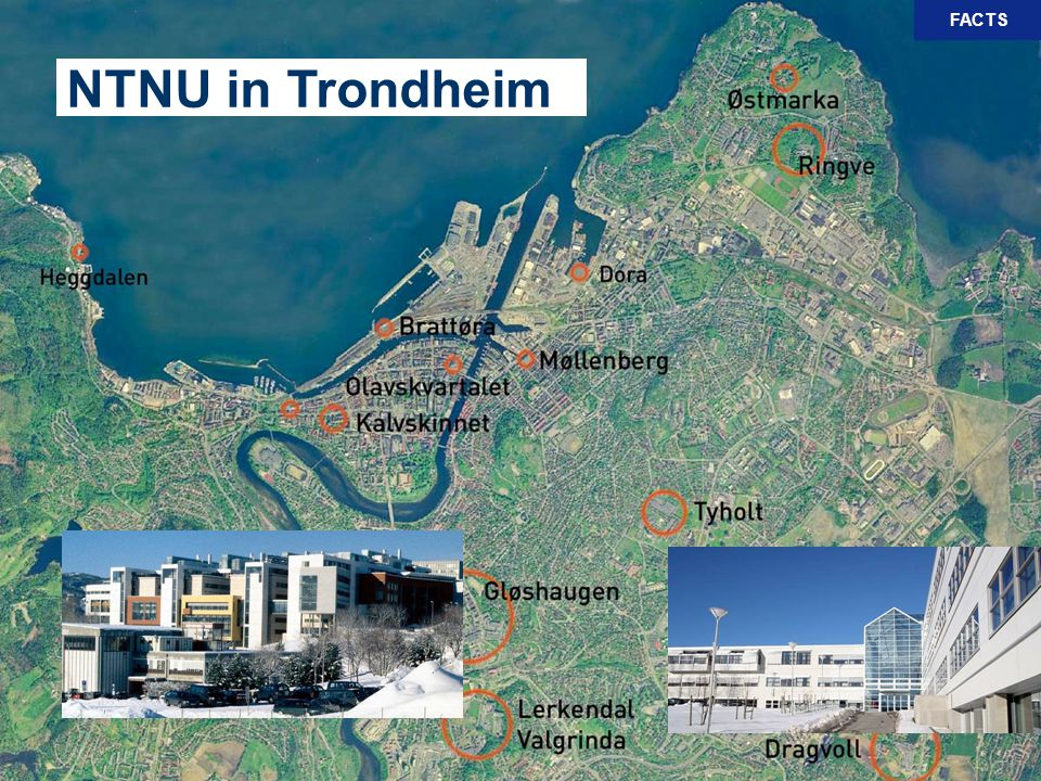 NTNU in Trondheim FACTS See a complete list at
