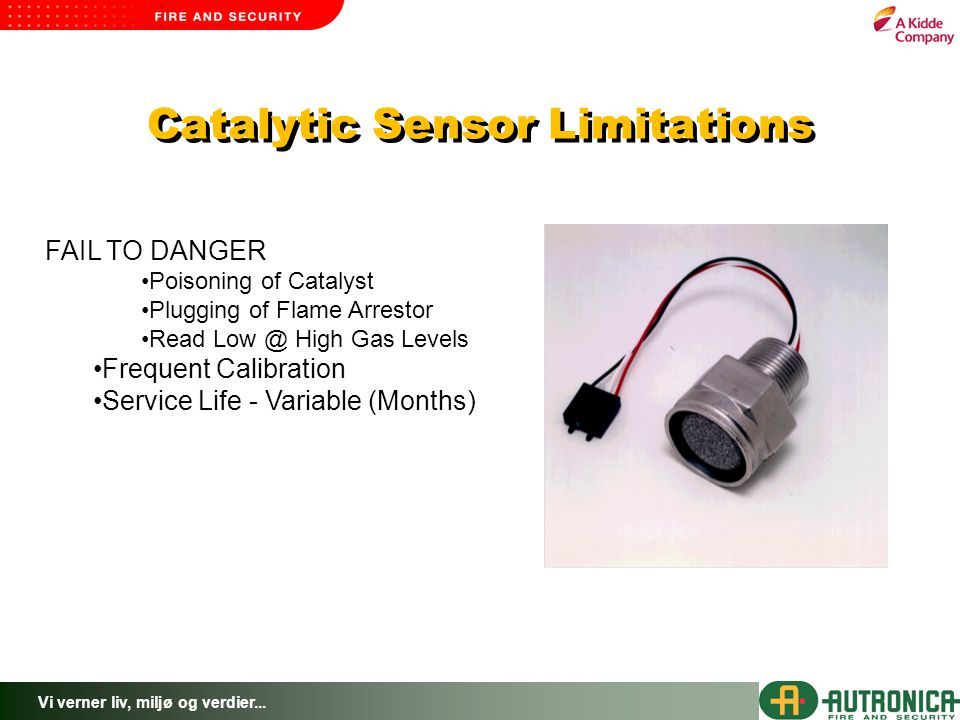 Catalytic Sensor Limitations