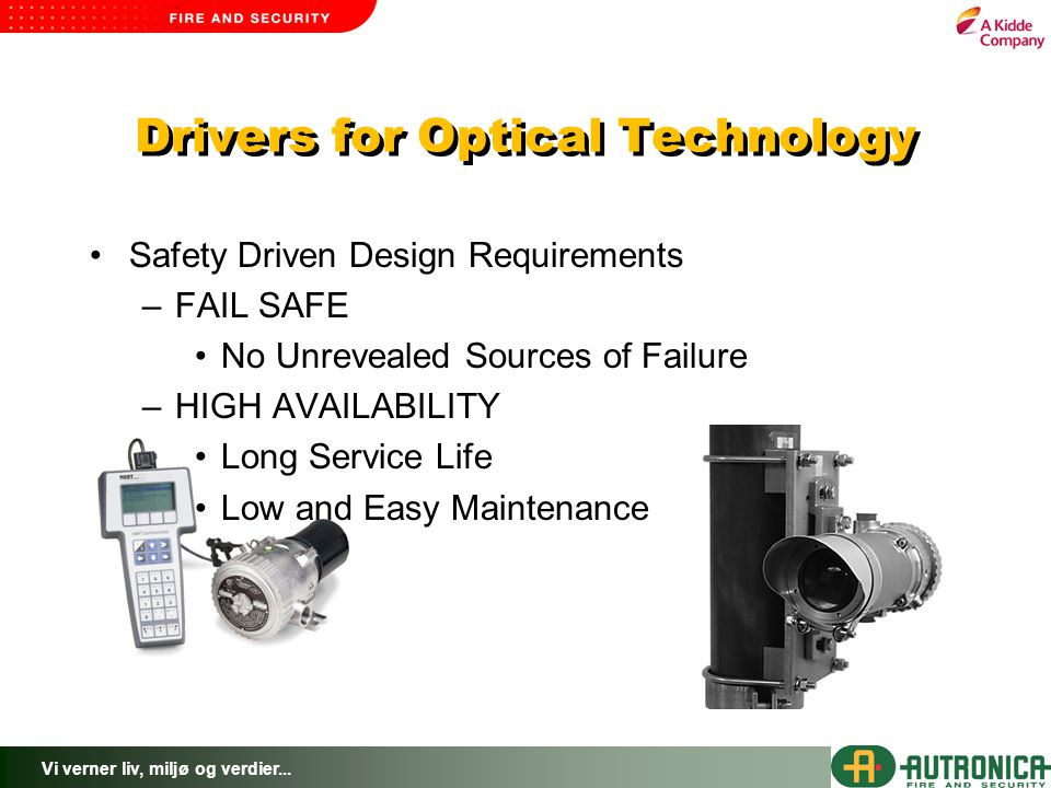Drivers for Optical Technology