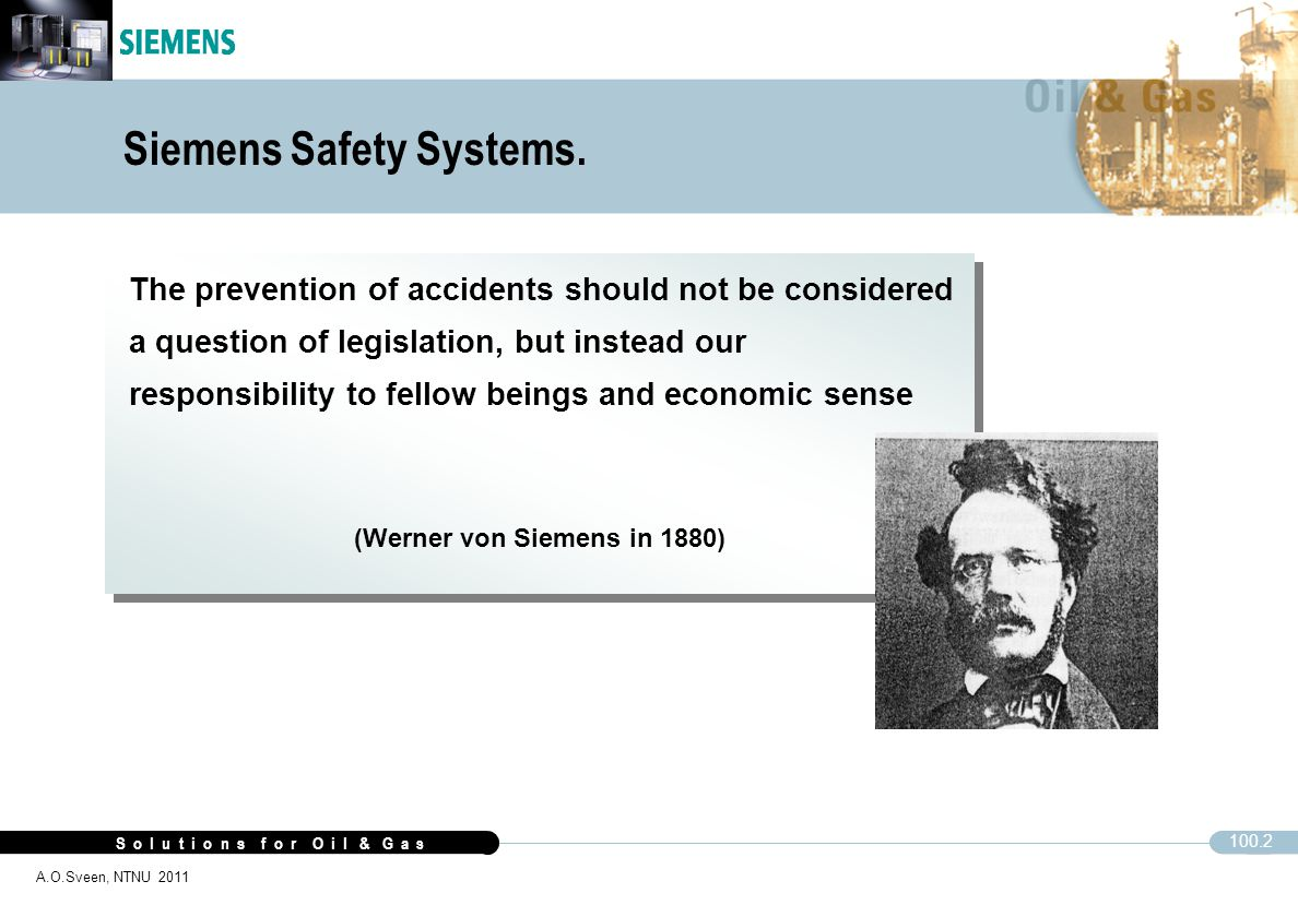 Siemens Safety Systems.