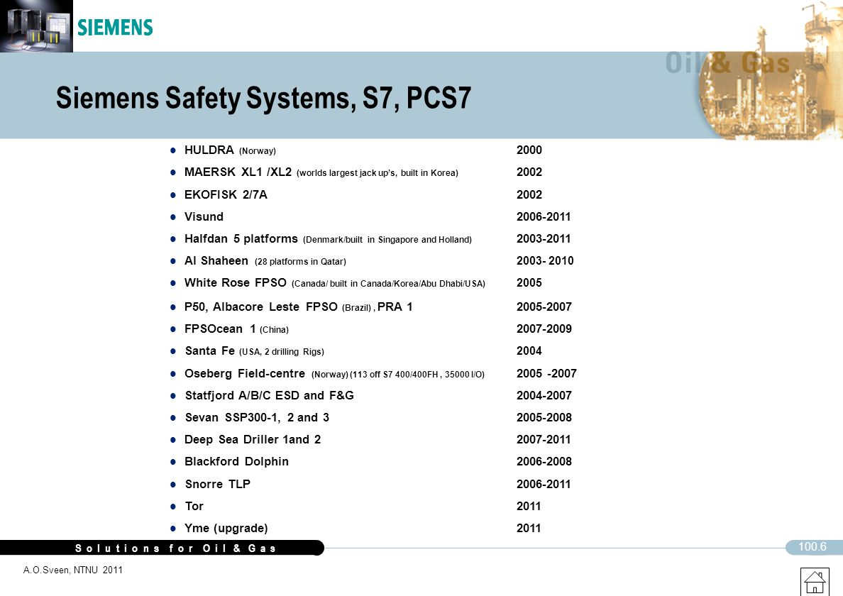 Siemens Safety Systems, S7, PCS7