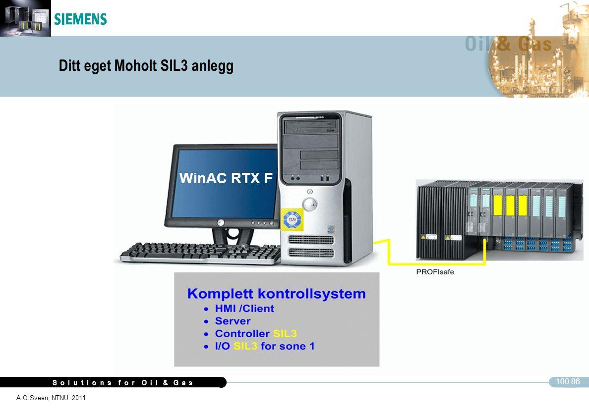 Ditt eget Moholt SIL3 anlegg