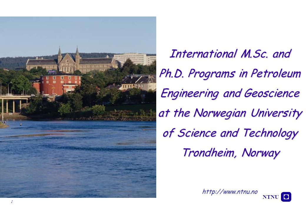 International M. Sc. and Ph. D