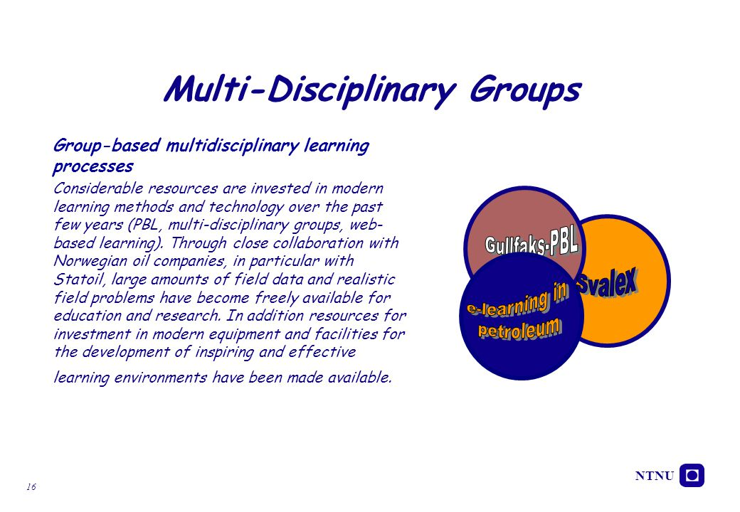 Multi-Disciplinary Groups