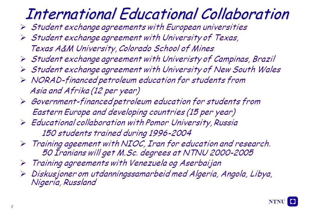 International Educational Collaboration