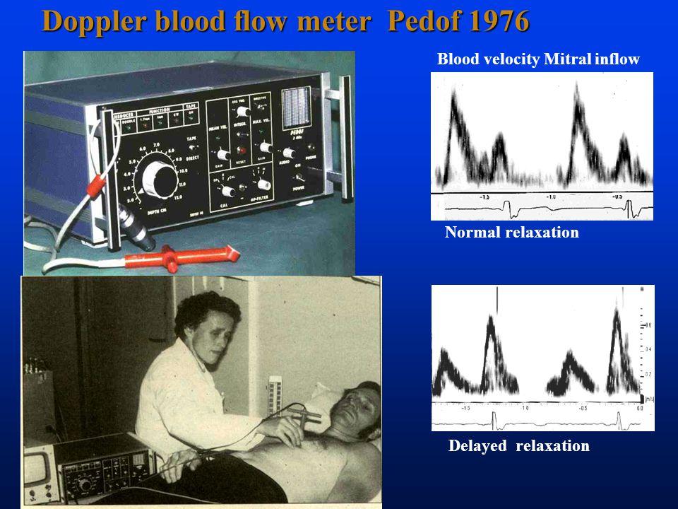 Doppler blood flow meter Pedof 1976