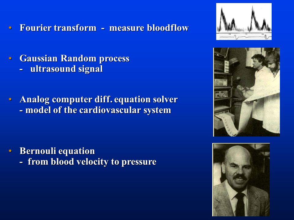 Fourier transform - measure bloodflow