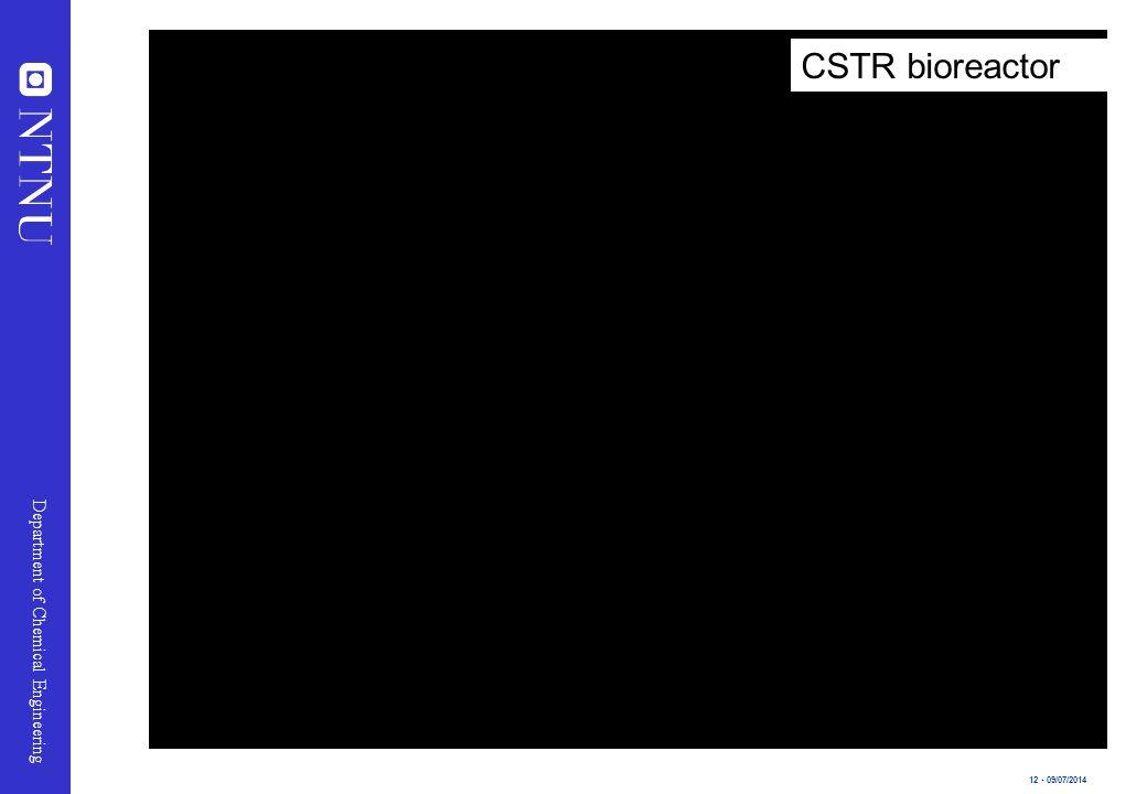 CSTR bioreactor