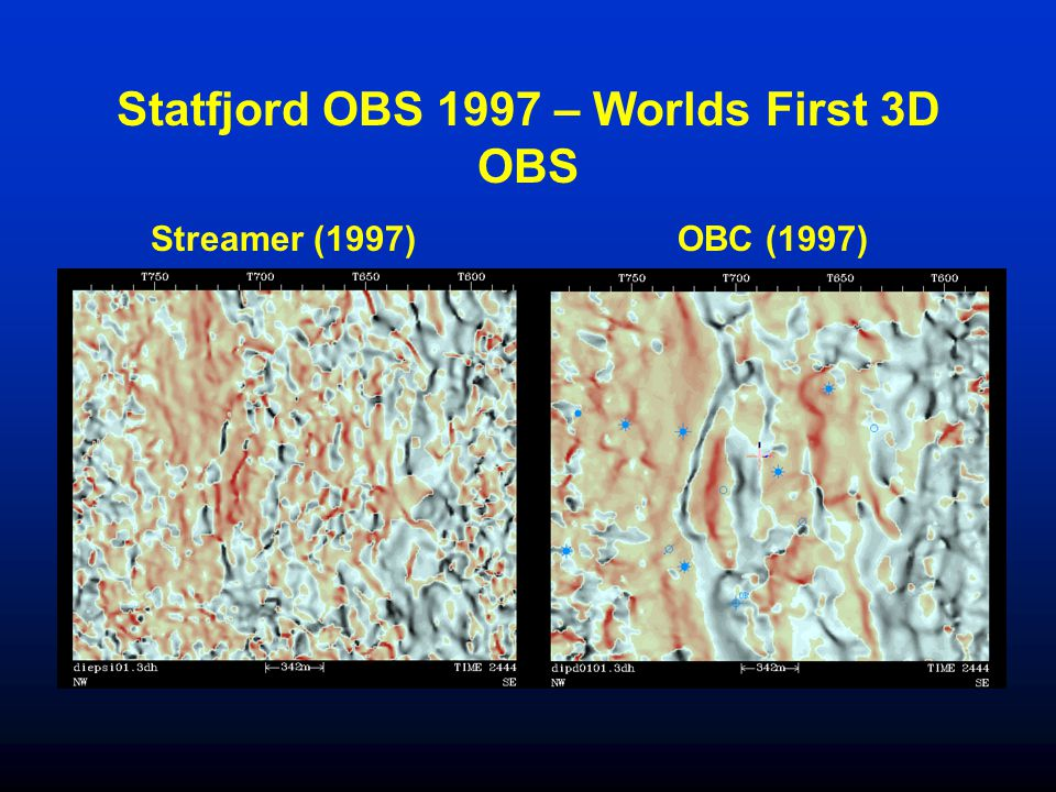 Statfjord OBS 1997 – Worlds First 3D OBS