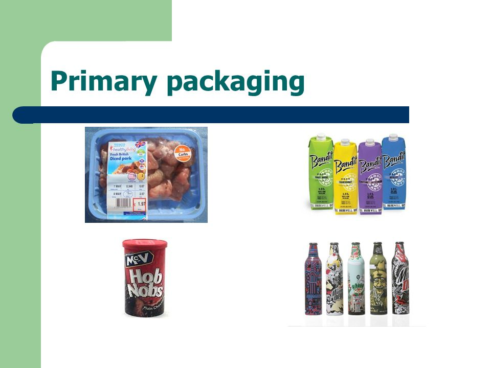 Primary packaging