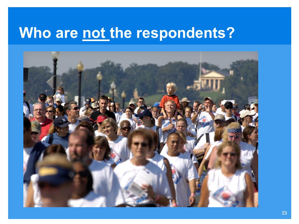 Who are not the respondents