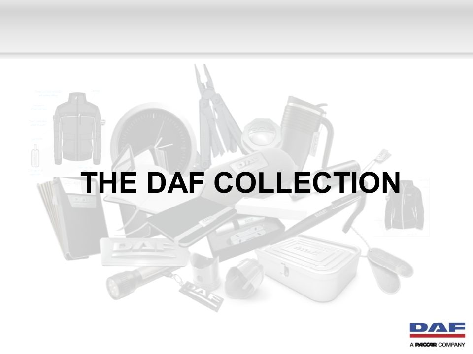 THE DAF COLLECTION