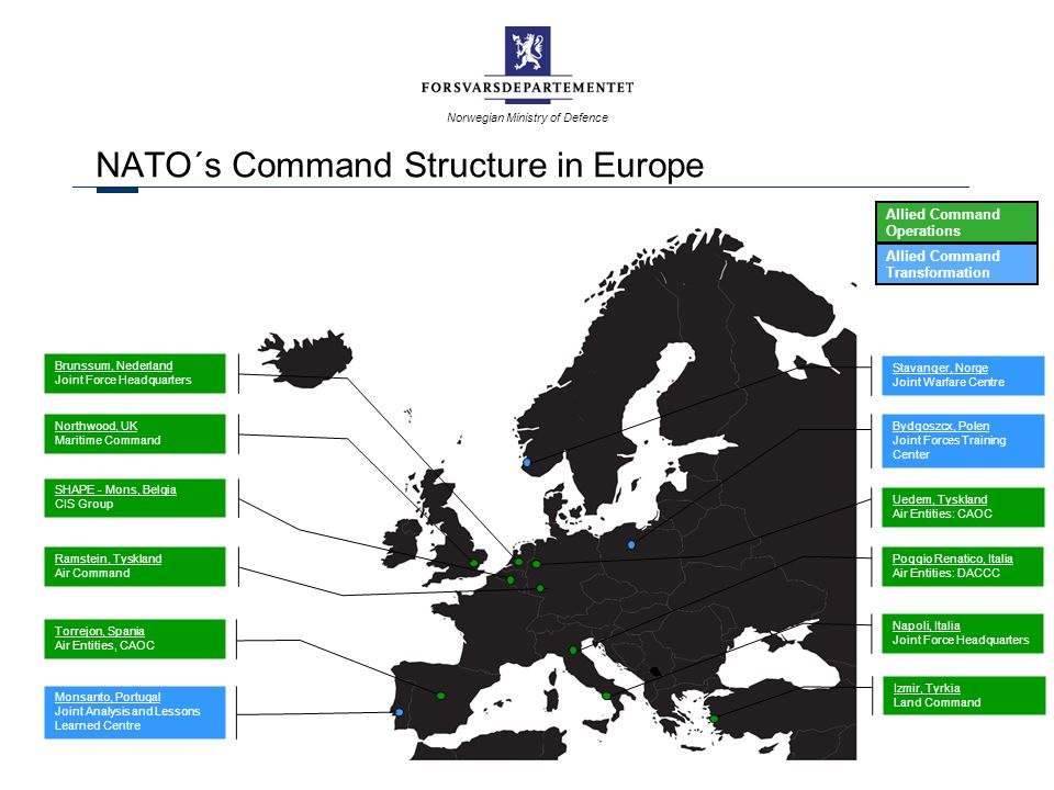 NATO´s Command Structure in Europe