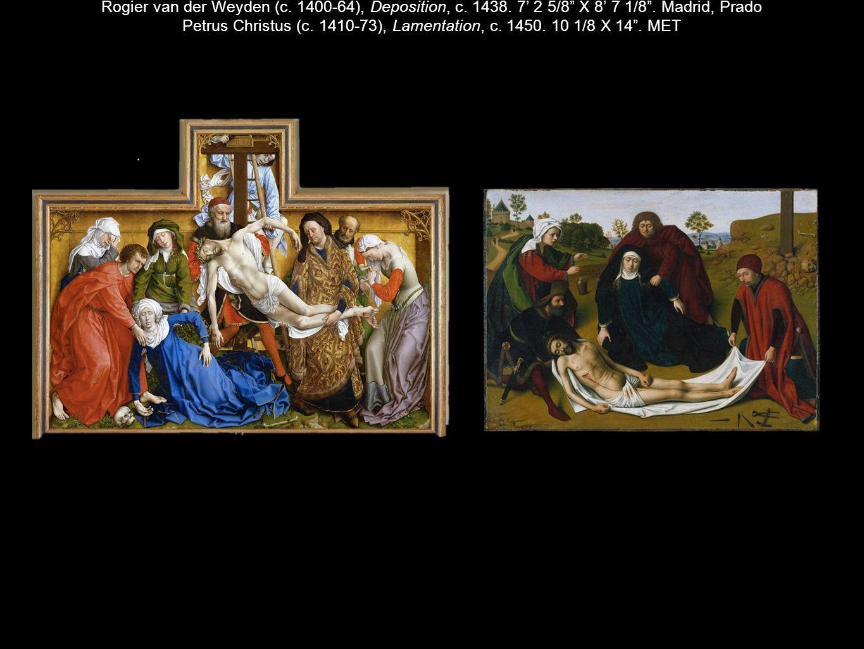 Rogier van der Weyden (c. 1400-64), Deposition, c. 1438