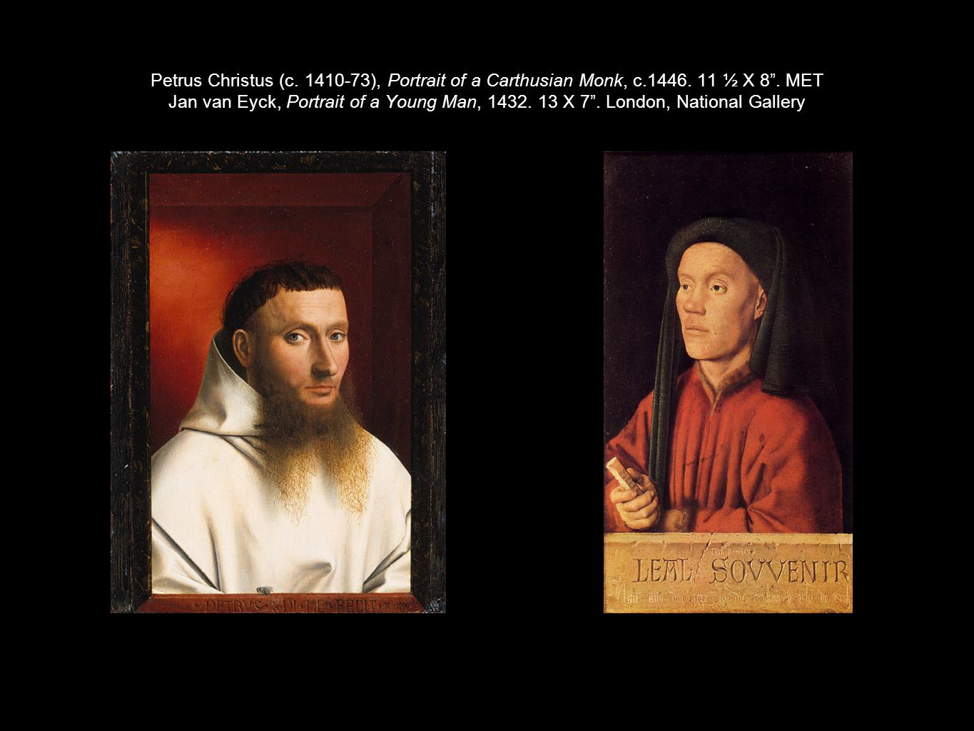 Petrus Christus (c. 1410-73), Portrait of a Carthusian Monk, c. 1446