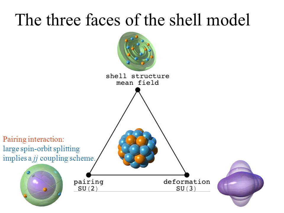 The three faces of the shell model